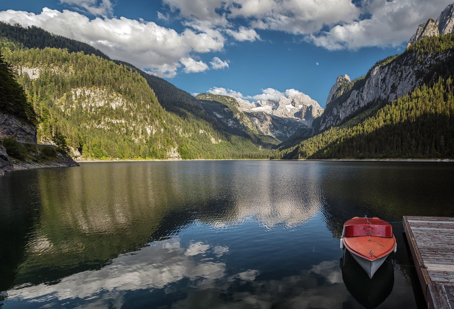 озеро, горы, альпы, Alexandr Bezmolitvenny