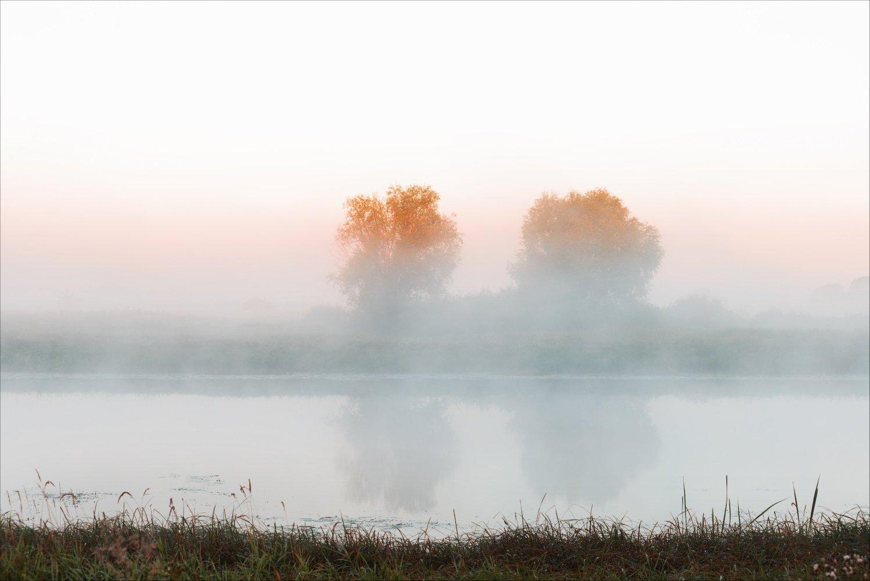 озеро доброе весна утро, Купреев Юрий