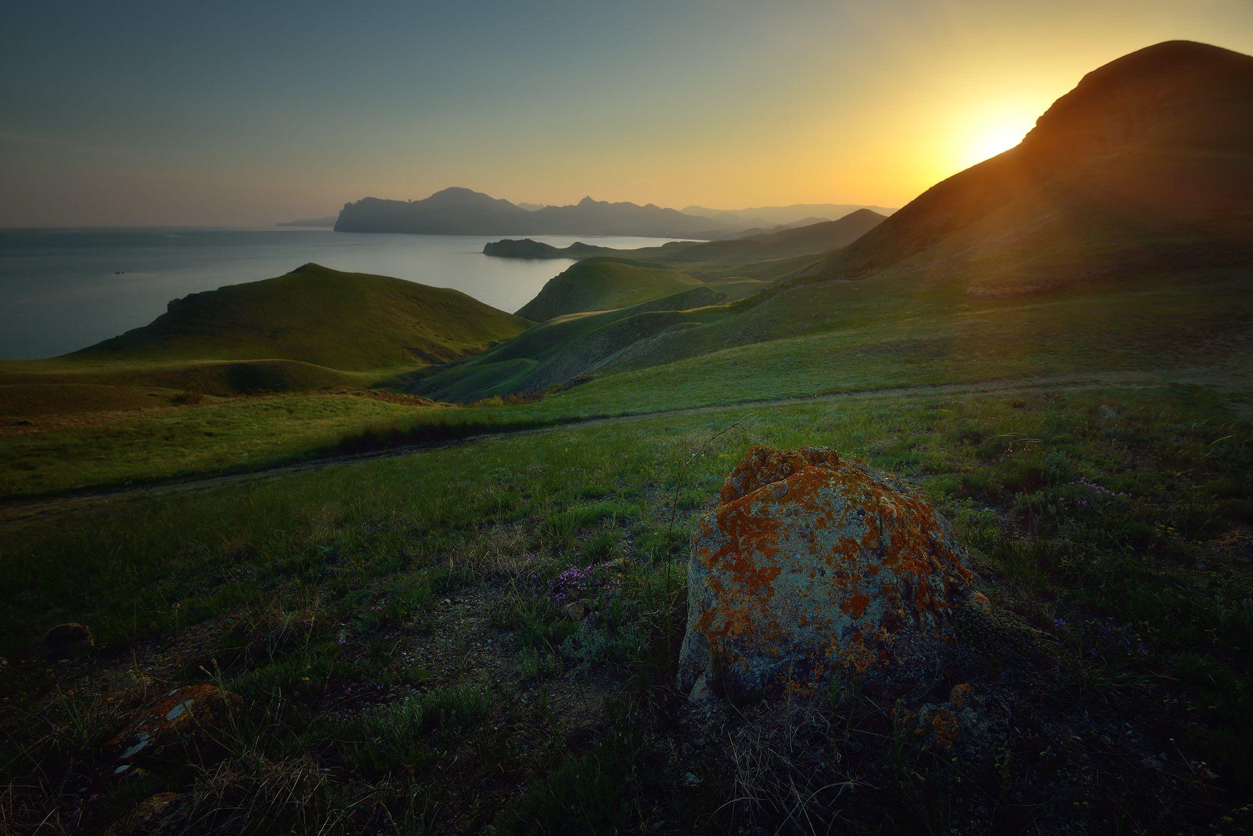 крым, природа, весна, горы, море, Никонов Алексей