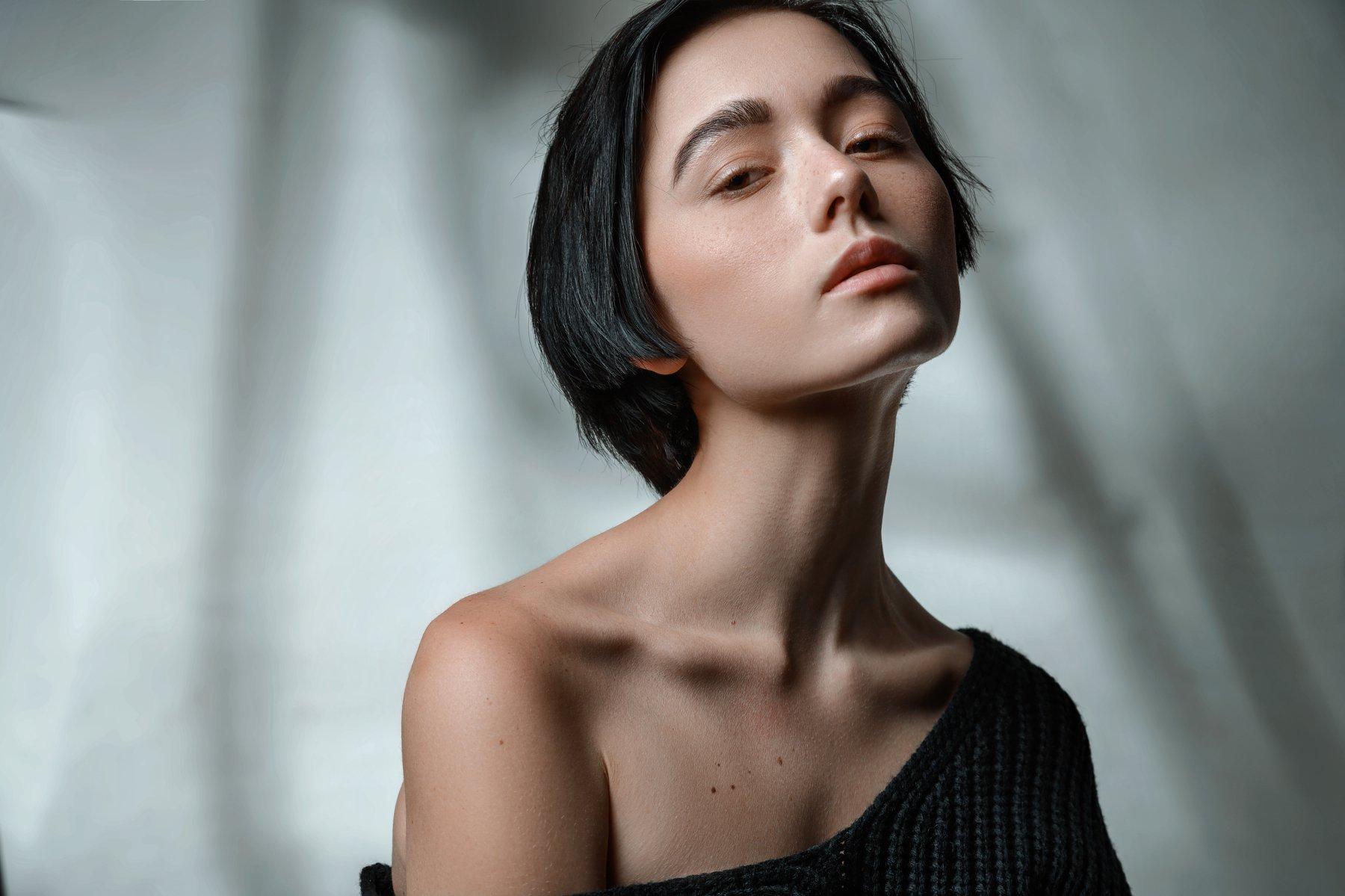 портрет. portrait, color, girl, studio, Соволов Павел