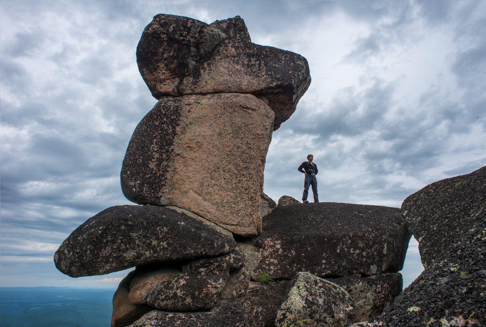 скала мана белогорье кутурчинское утро лето скульптура фигура, Мальцев Юрий