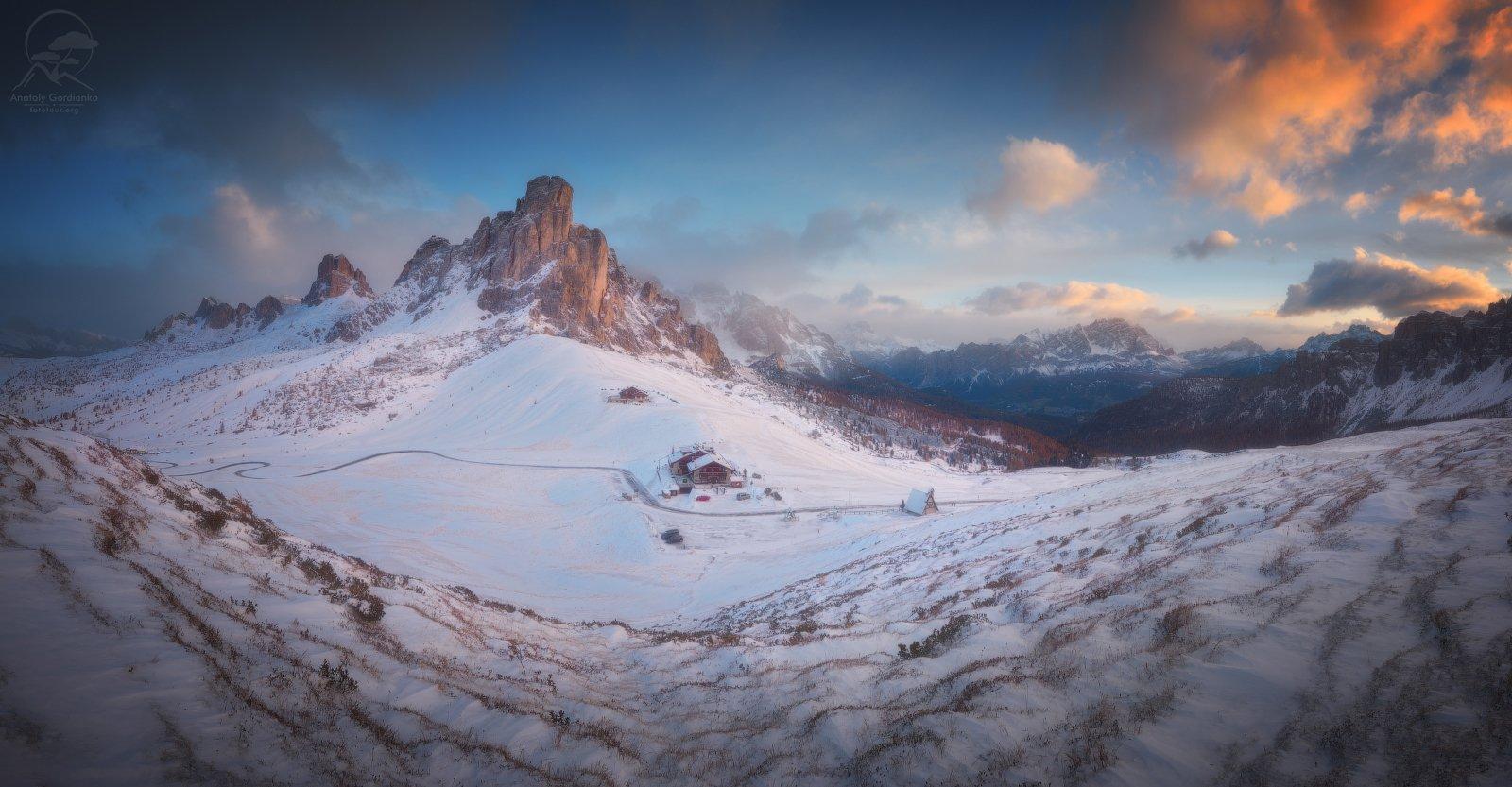 пейзаж, природа, горы, италия, доломиты, Гордиенко Анатолий