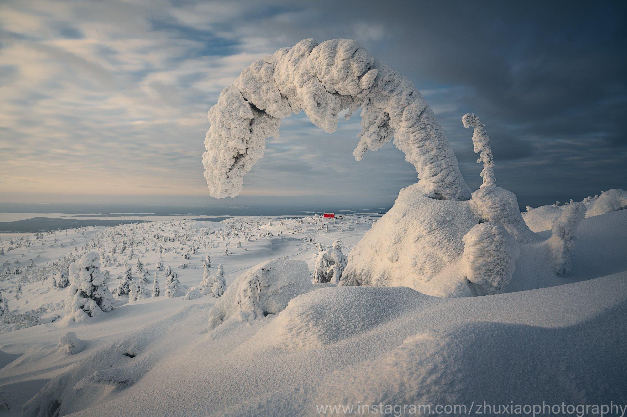 зима, Zhu Xiao