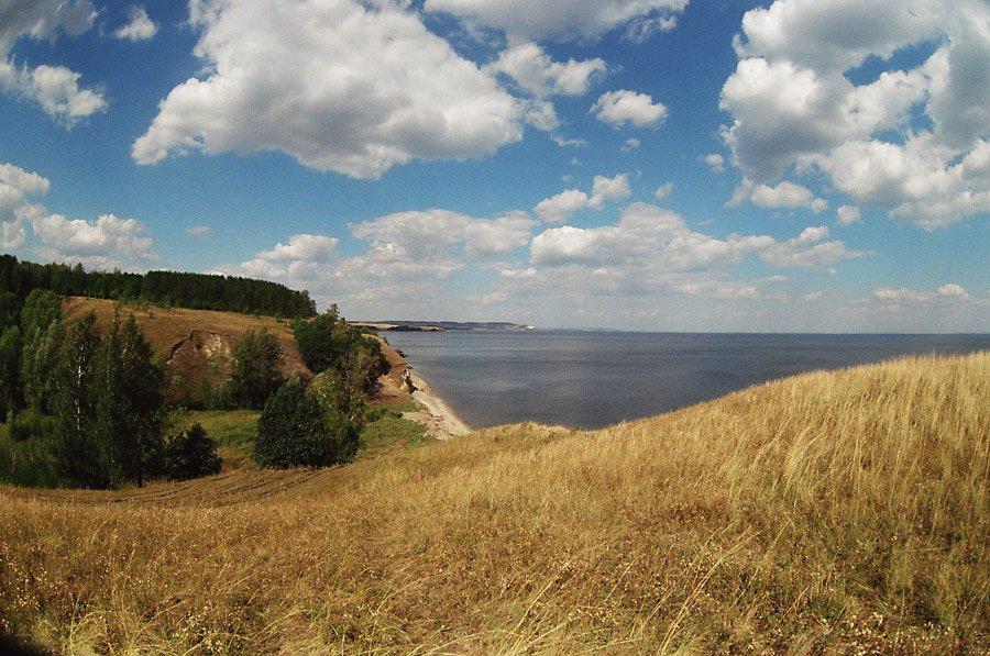 волга, пейзаж, Prohorov