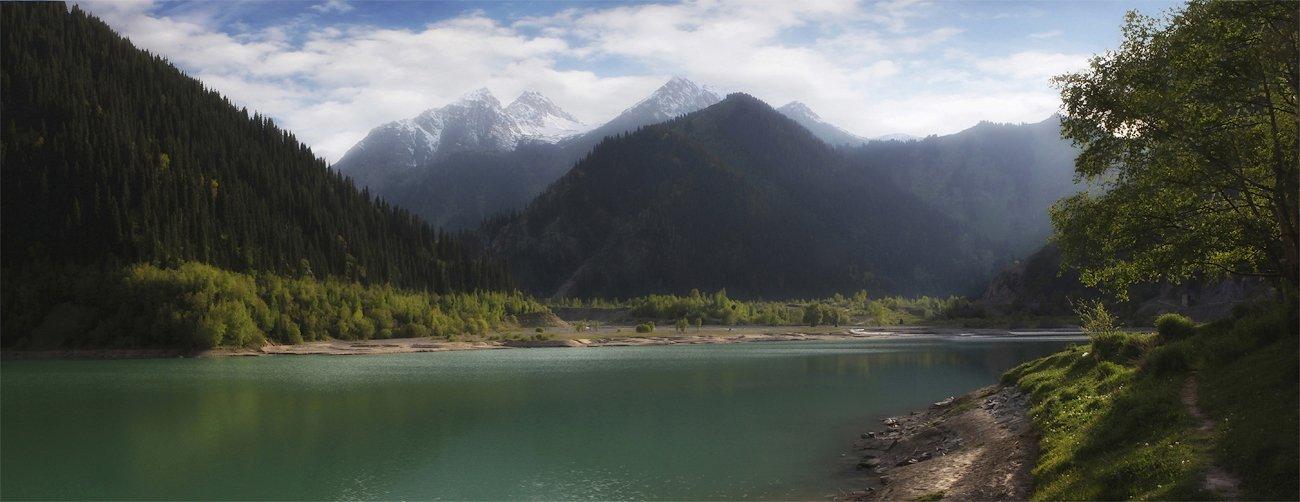 горы,озеро, SkorovS