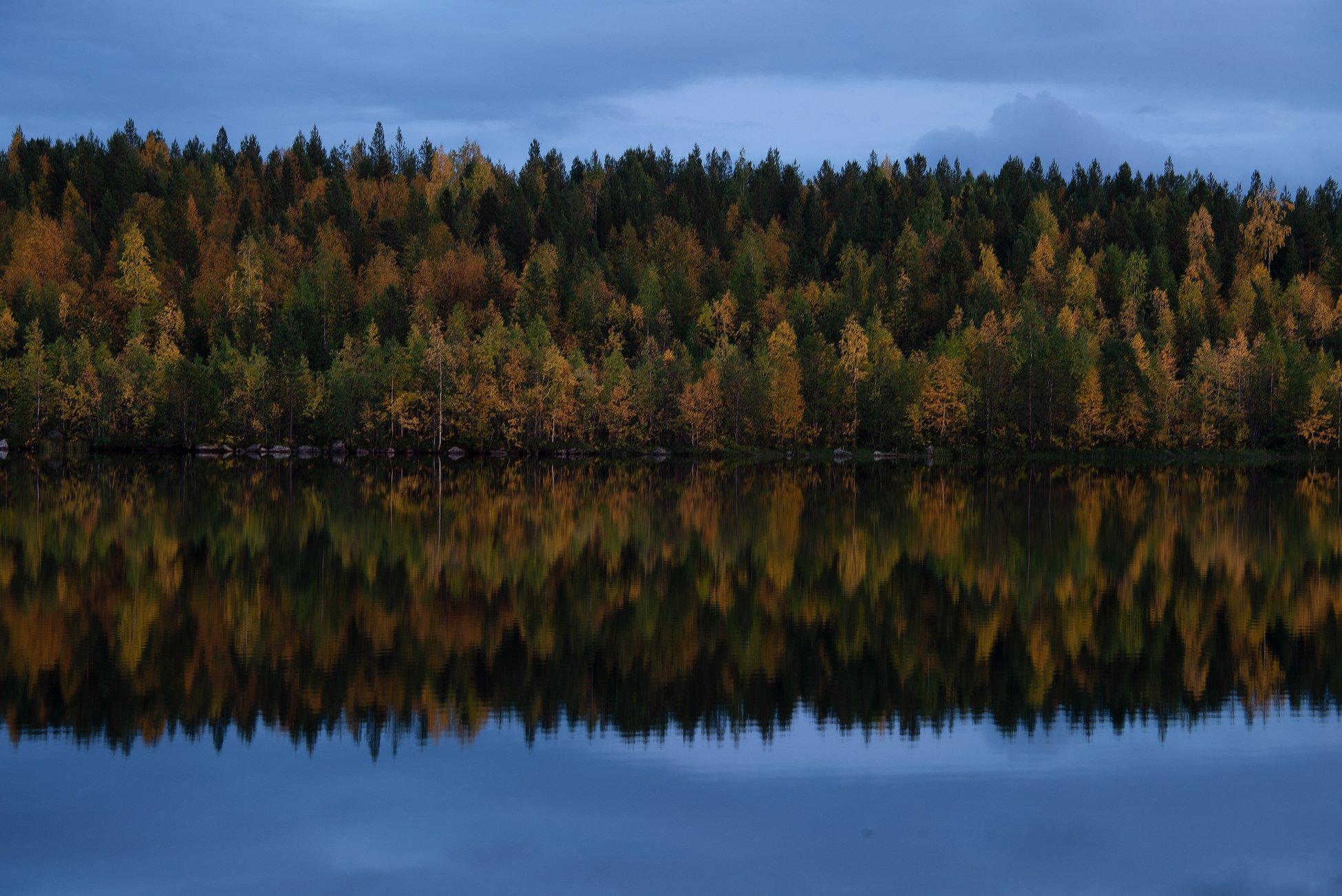 Кольский полуостров, озеро Марфа, осень, autumn, lake, Анастасия Малых