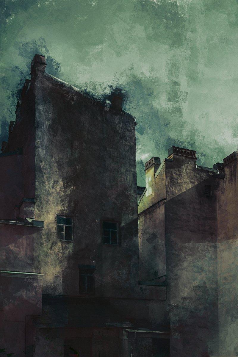 абстракция. город, санкт-петербург, художник, artist, abstraction art, saint-petersburg, Корниенко Евгений