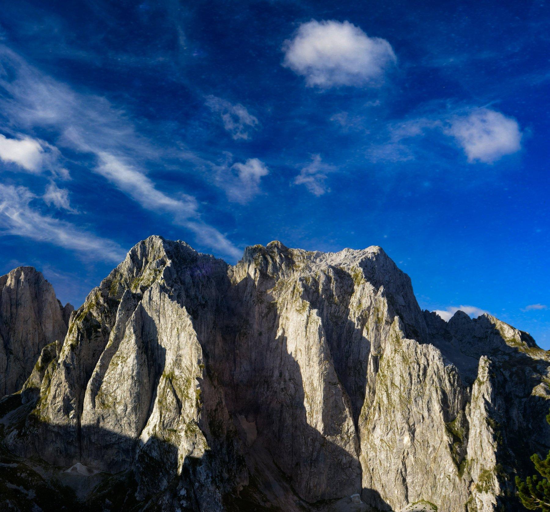 montenegro, mountains, Денис Воронин