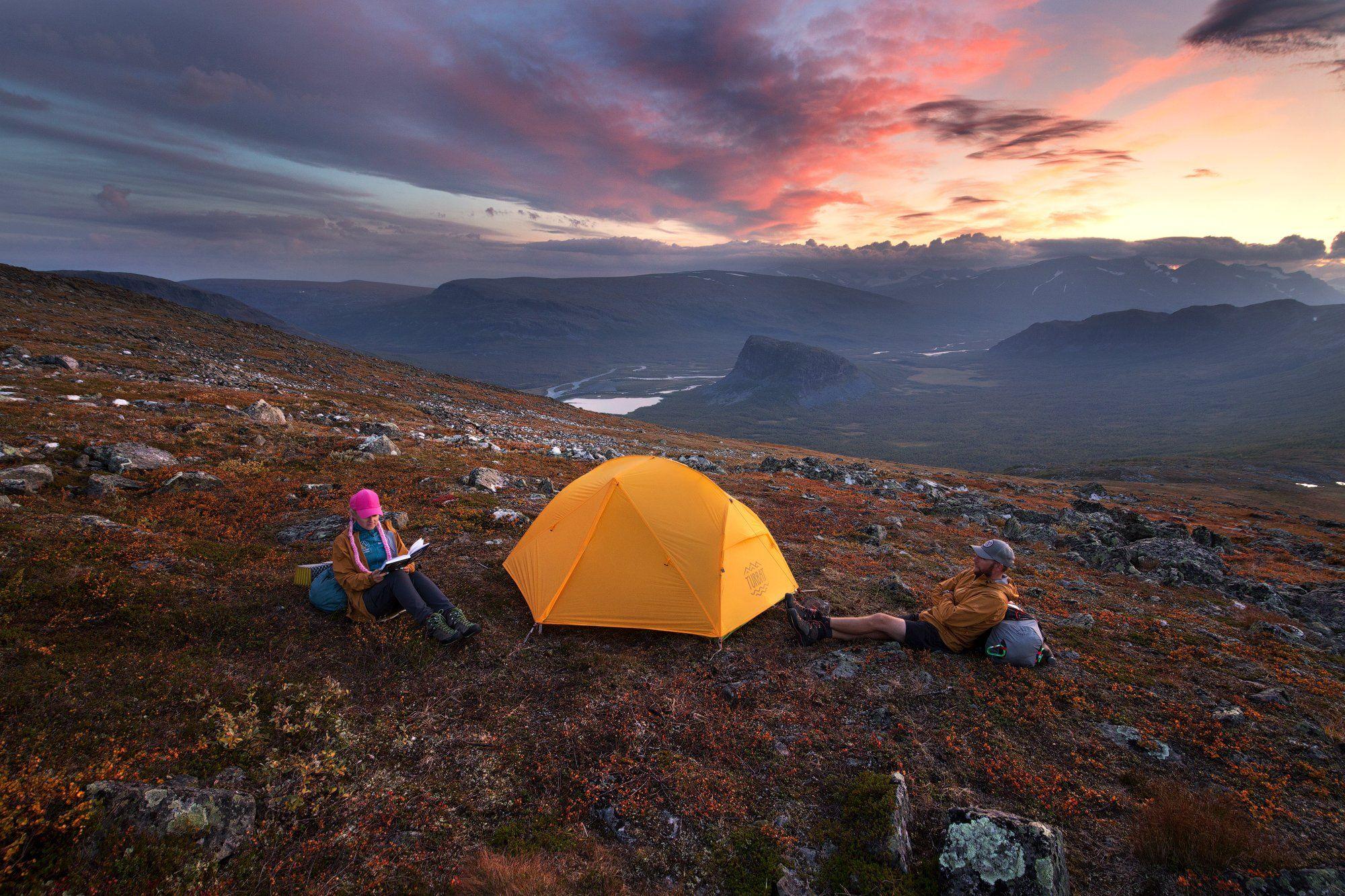 сарек, лапландия, арктика, палатка, вечер, sarek, lapland, laponia, tent, Владимир Куцый (Vlad Kutsey)