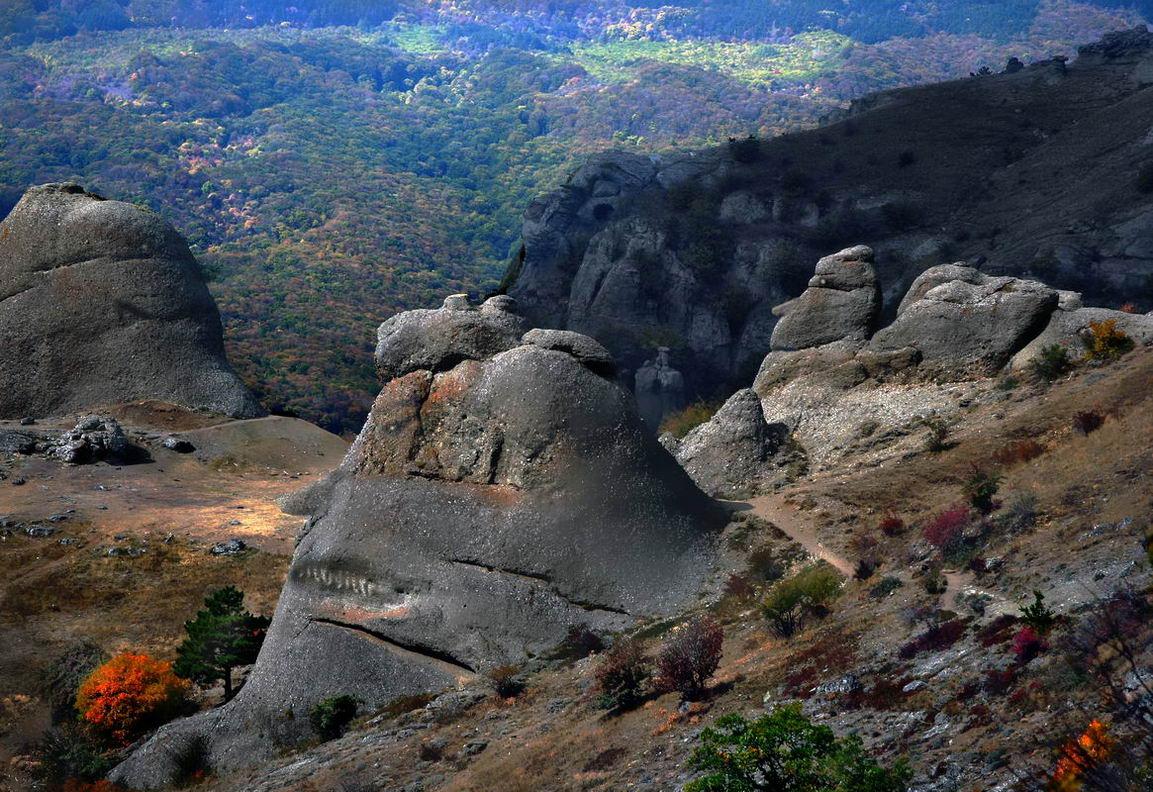 каменные-монстры-крыма, горы, скалы, водопад, джур-джур, зеленогорье, панагия, алушта, демерджи, крым, симеиз, чатырдаг, sergey-nik-melnik, Serg-N- Melnik-oy