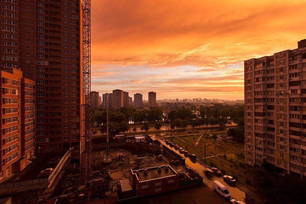 город, закат, киев, апокалипсис, Виталий