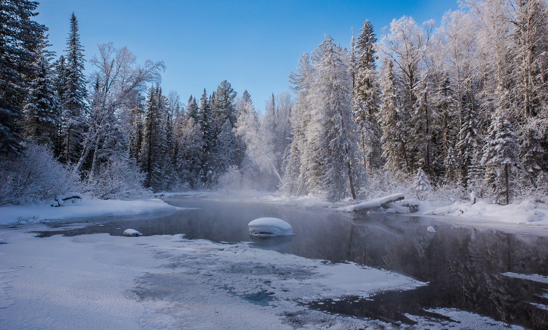 река мороз снег, Мальцев Юрий