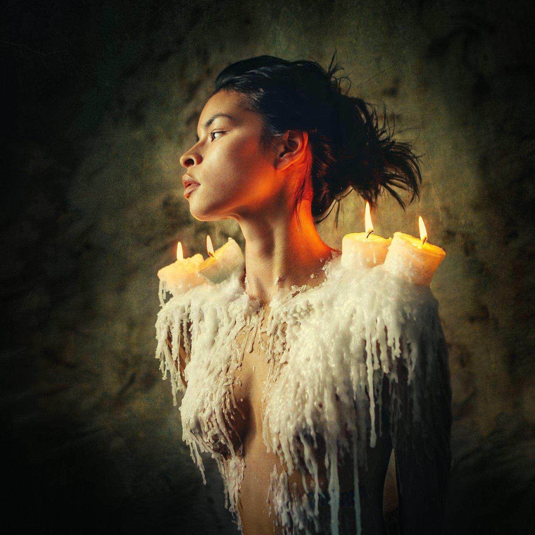 Девушка, портрет, модель, взгляд, красота, арт, позирование, Васильев Андрей