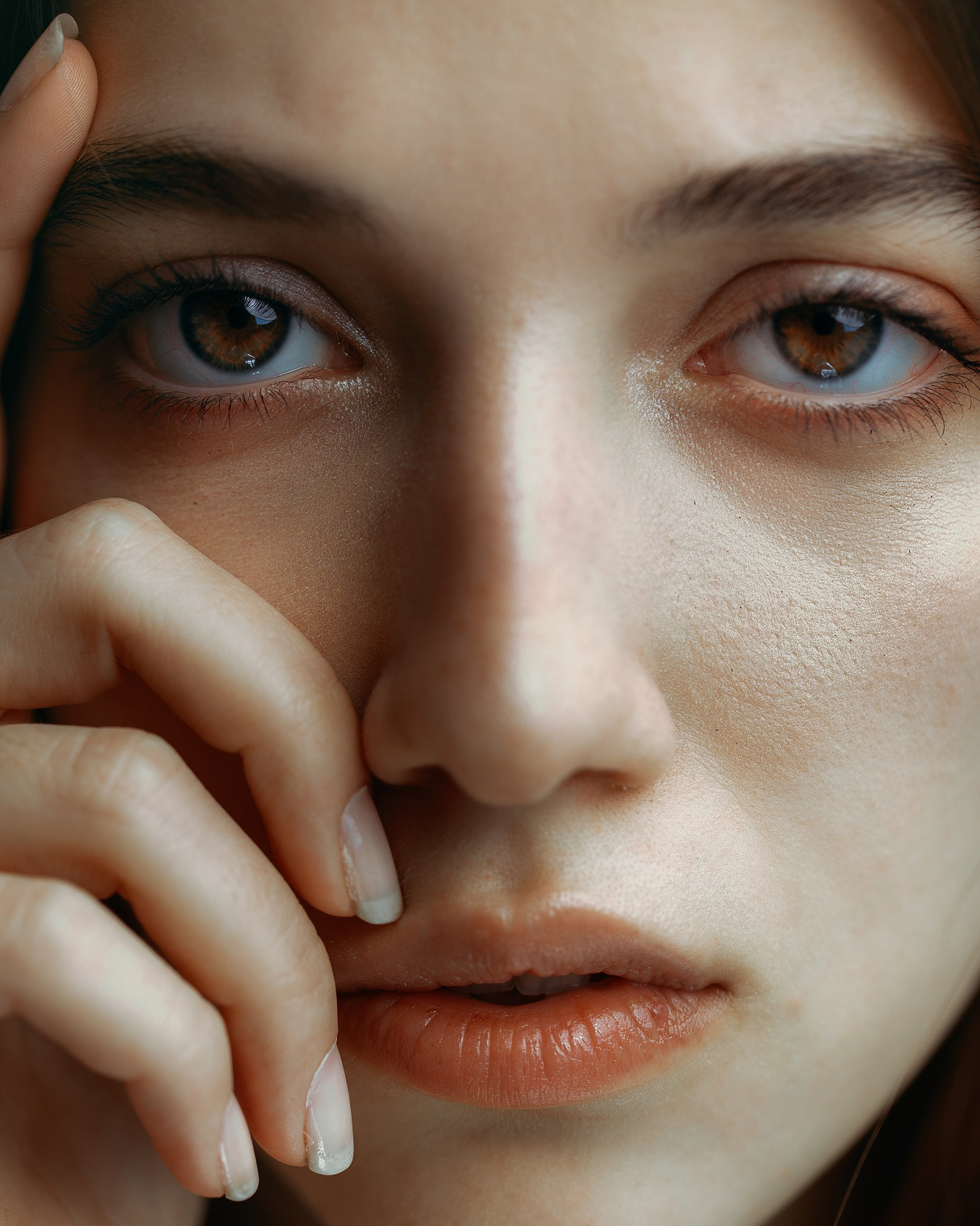 portrait girl mood natural retouch, Ali Arabzadeh