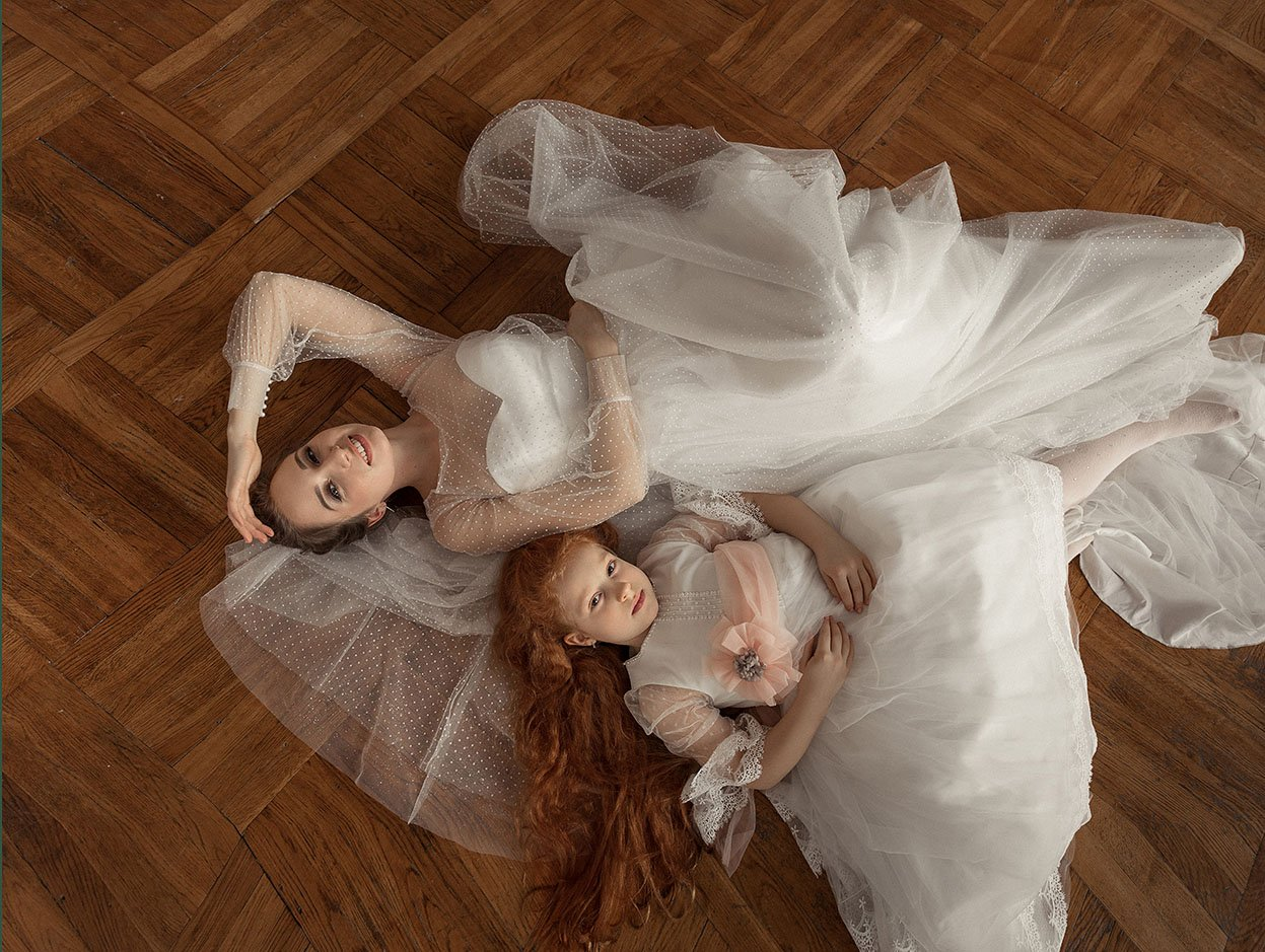 сестры, девочки, невеста, Маргарита Гусева