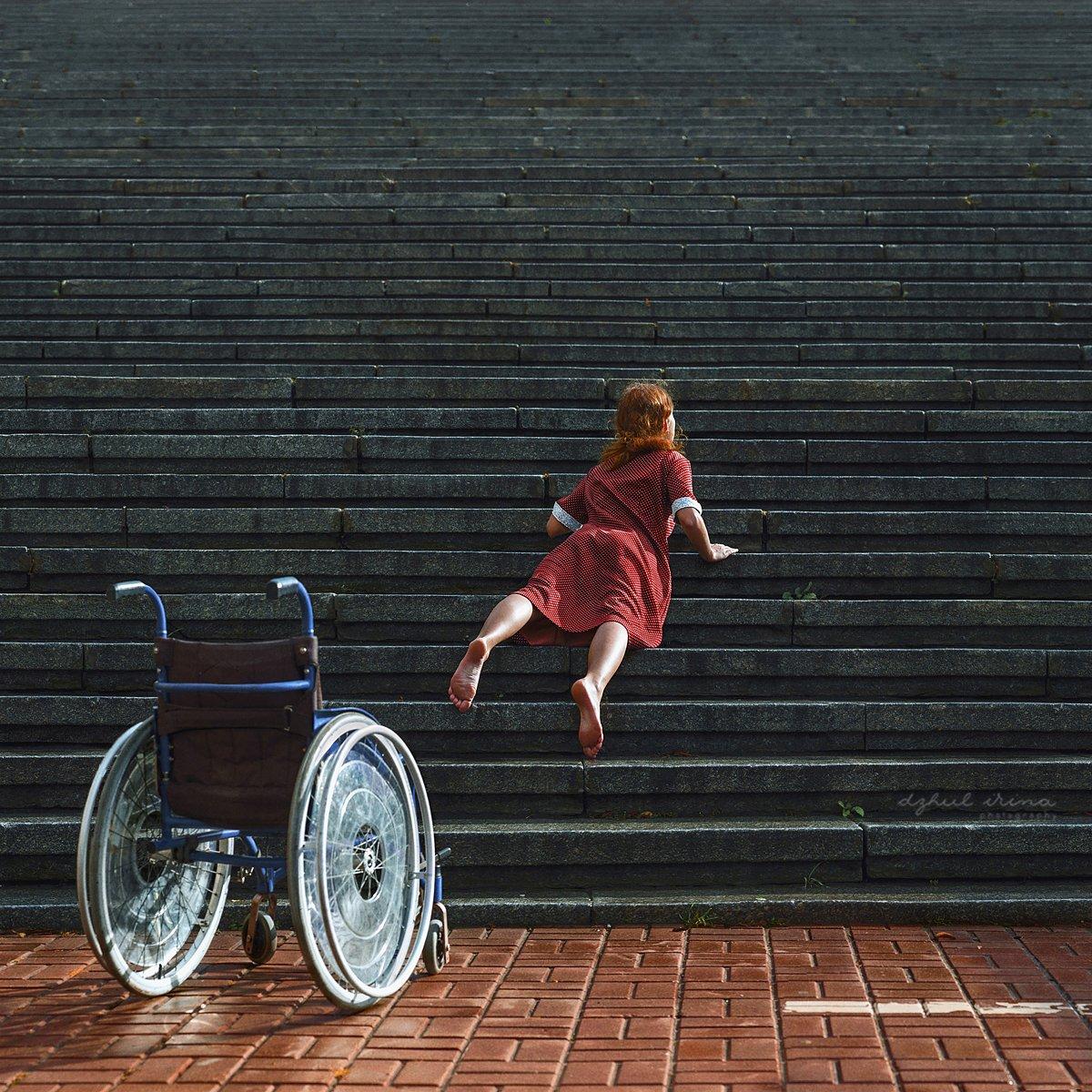 portreit people girl woman irinadzhul dzhulirina disability, Ирина Джуль