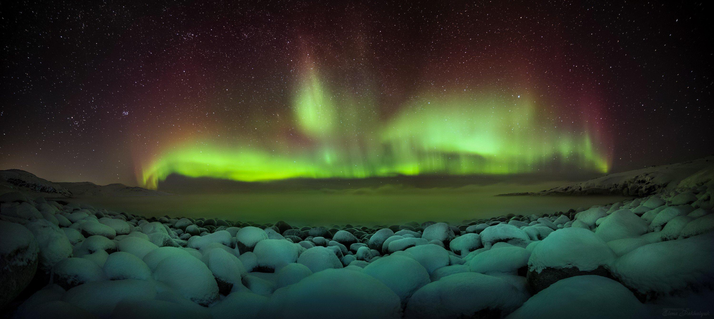 природа,россия,териберка,северный ледовитый,океан,северное сияние,океан,ночь,звезды,зима,пейзаж,фототур,кольский полуостров, Elena Pakhalyuk