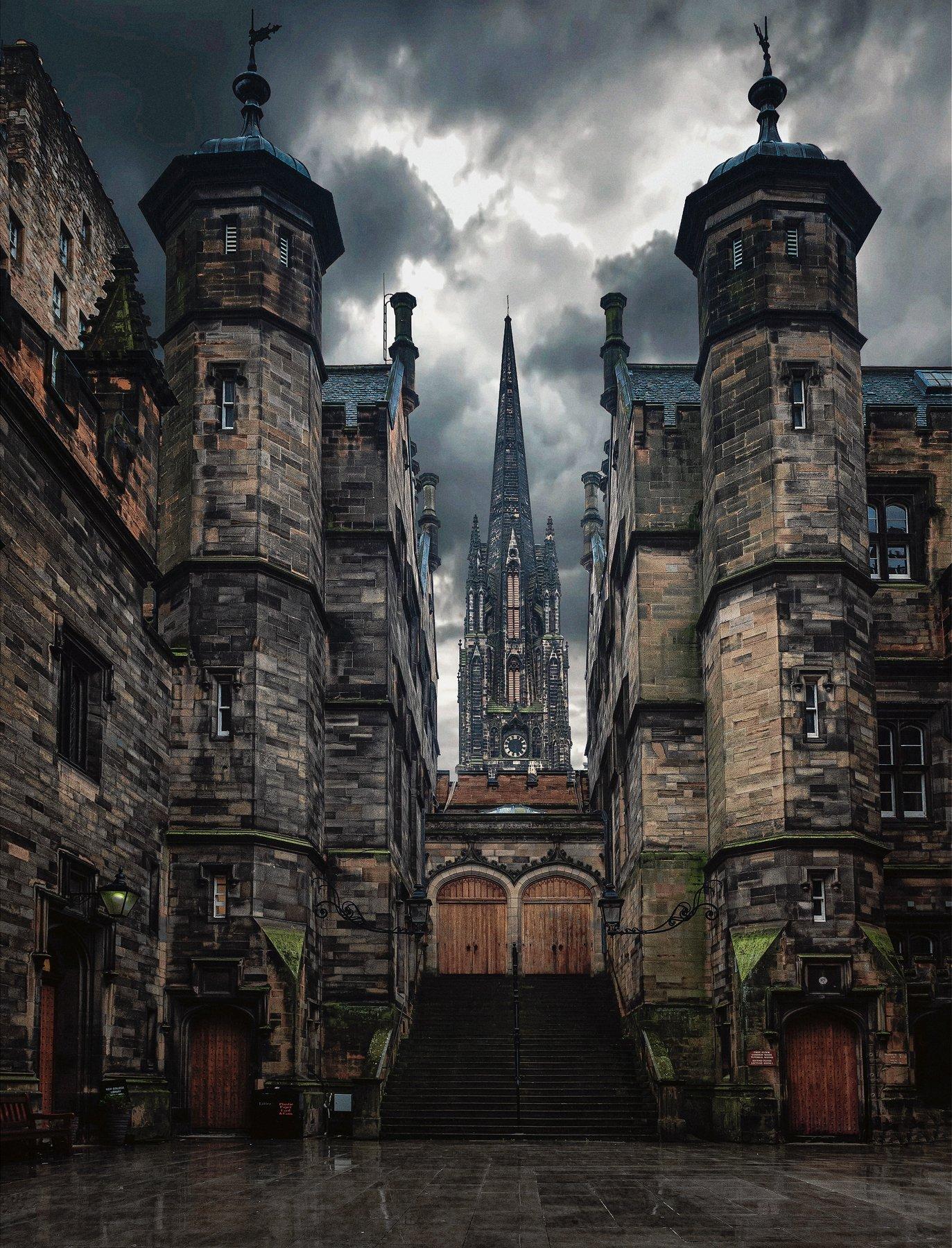 город, архитектура, шотландия, эдинбург, Алексей Ермаков