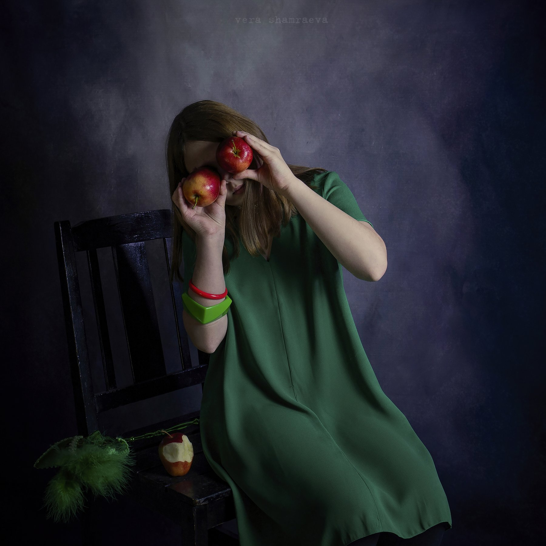 яблоки девочка вера шамраева постановка, Вера Шамраева