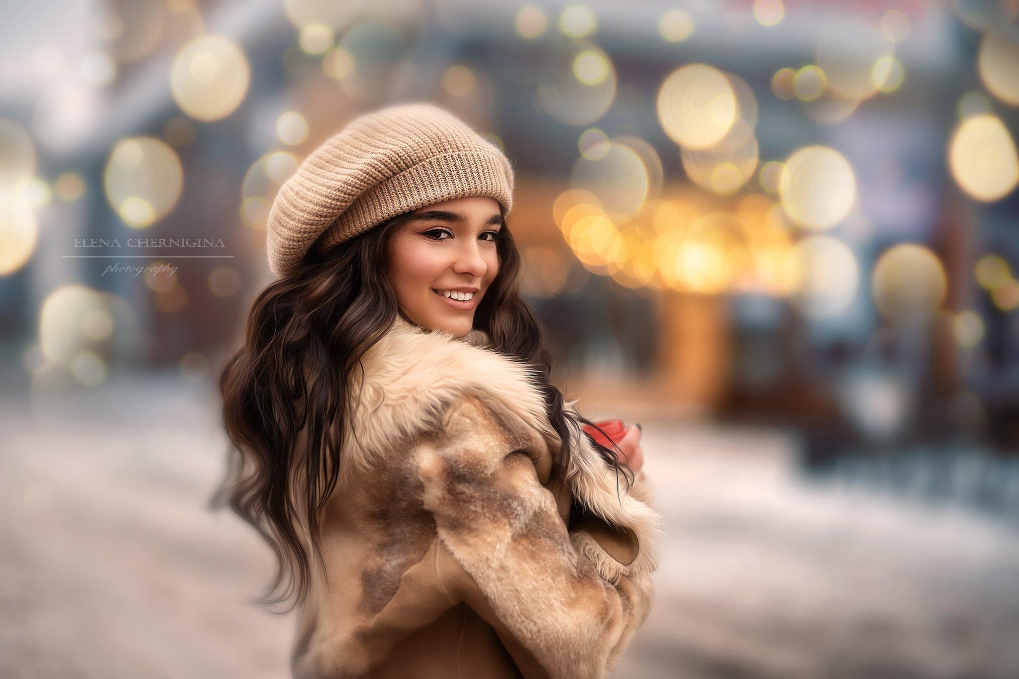 девушка, красивая девушка, женский портрет, красотка, молодость, Чернигина Елена