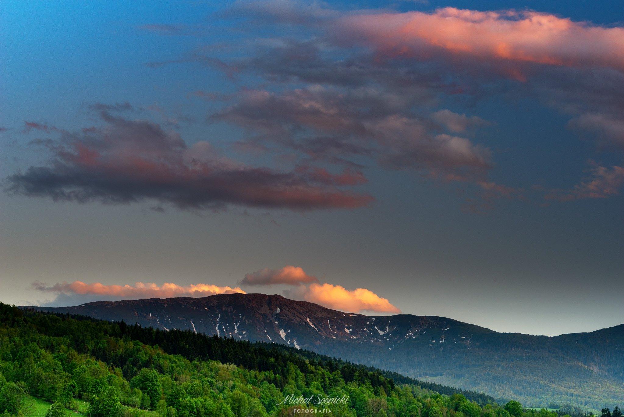 #poland #beskids #queen #clouds #mountains #pentax #benro, Sośnicki Michał