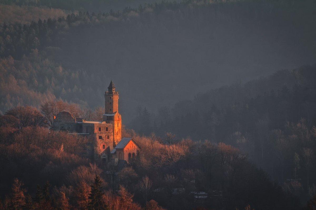 autumn,mountains,canon,sunrise,castle, Iza i Darek Mitręga