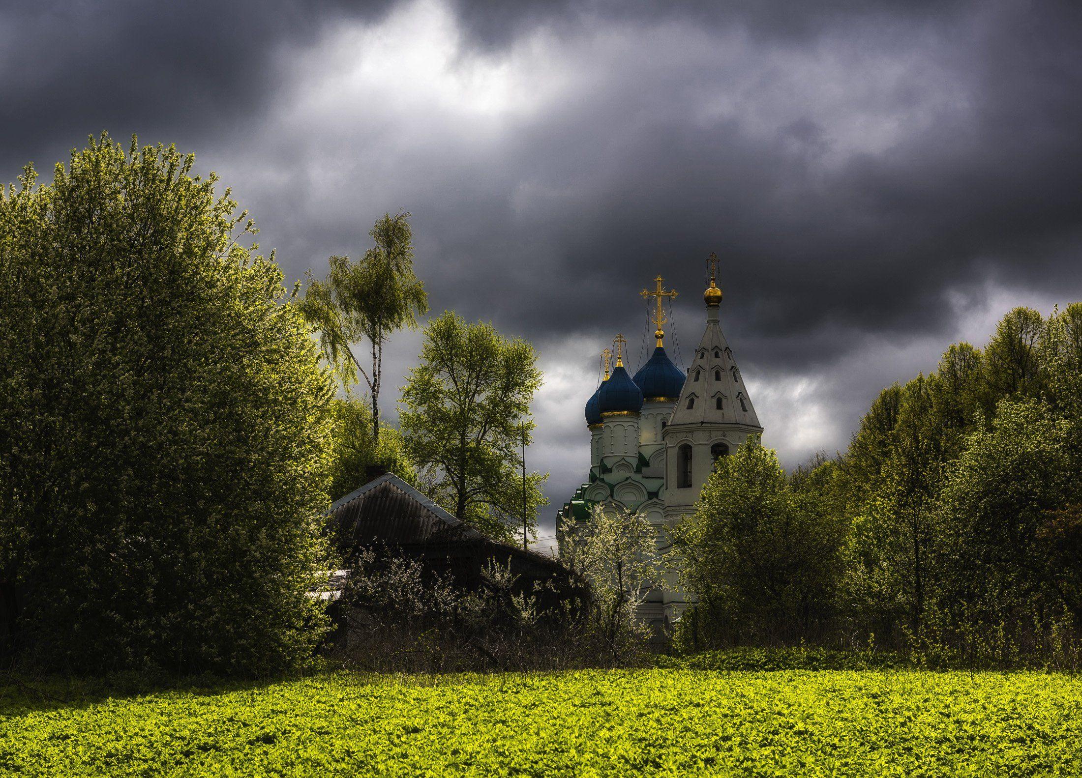 село, церковь, май, Владимир Штыриков