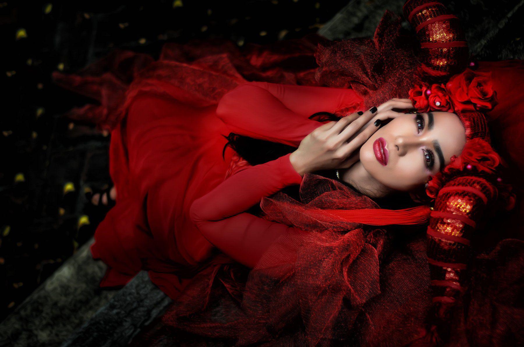 #woman #red #fashion #beauty , Analiza Daran De Guzman