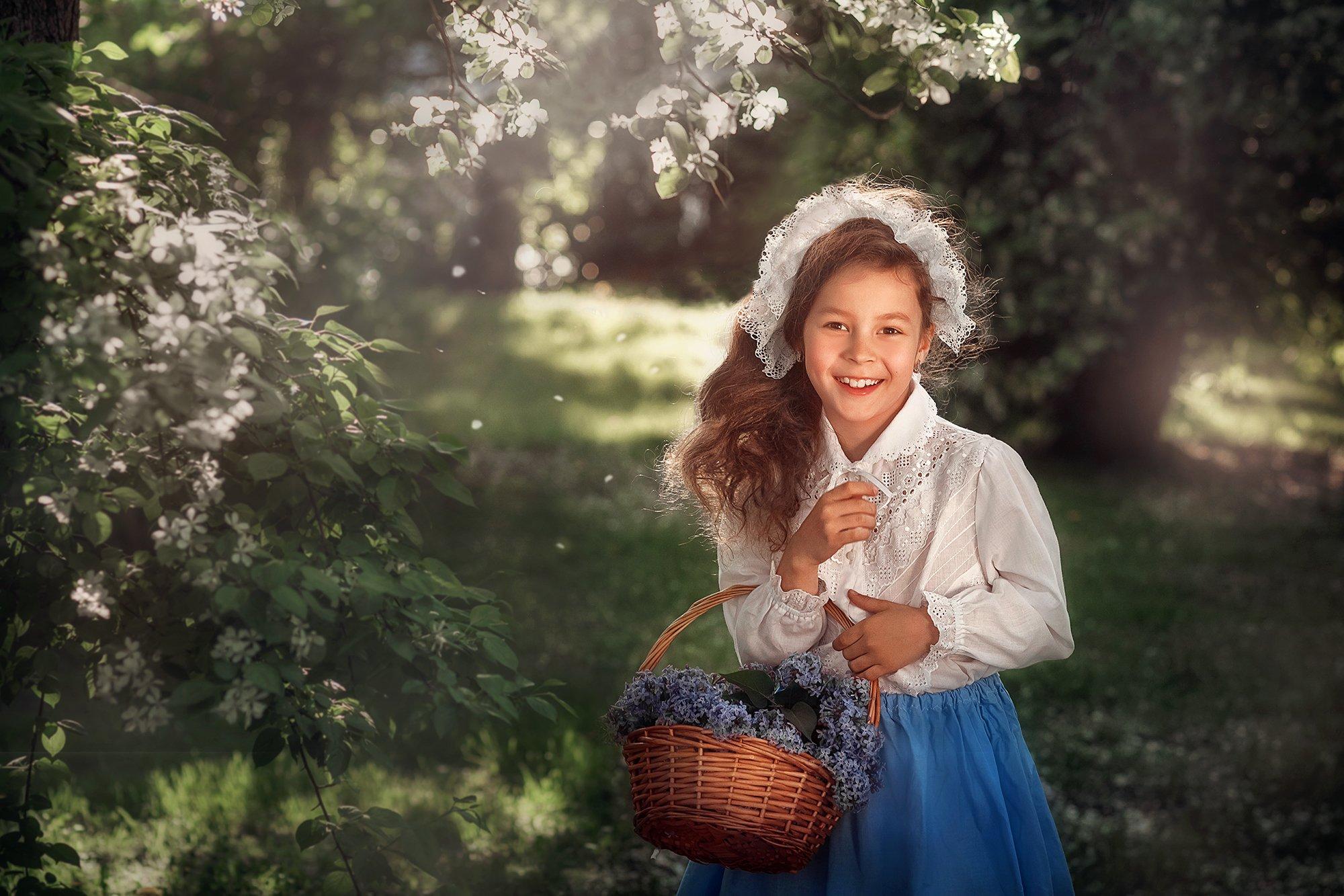 девочка, лето, портрет, Пипкина Оксана