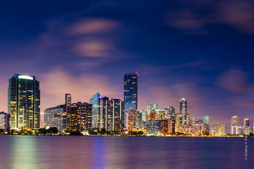 Downtown, Miami, Usa, Америка, Майами, Сша, Andrey Y. Polees
