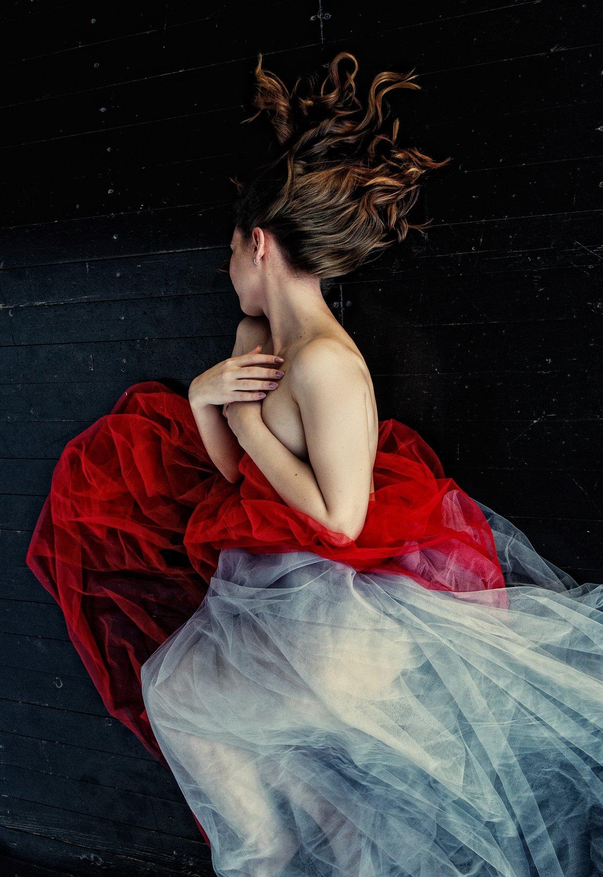 портрет ню сон девушка красота настроение , Барсукова Юлия
