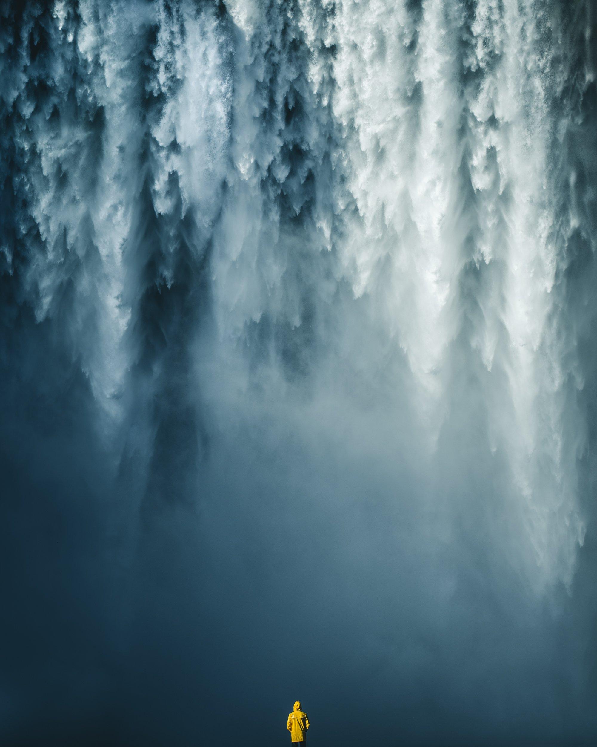 waterfall, iceland, skogafoss, nature, travel, outdoor, Ziomek Witold
