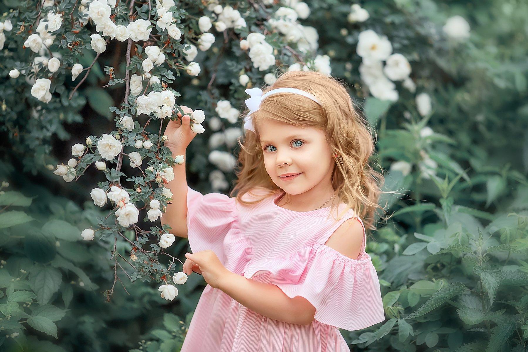 детский портрет, детская фотографий,  лето, дети модели, детский фотограф, Чупико Анастасия