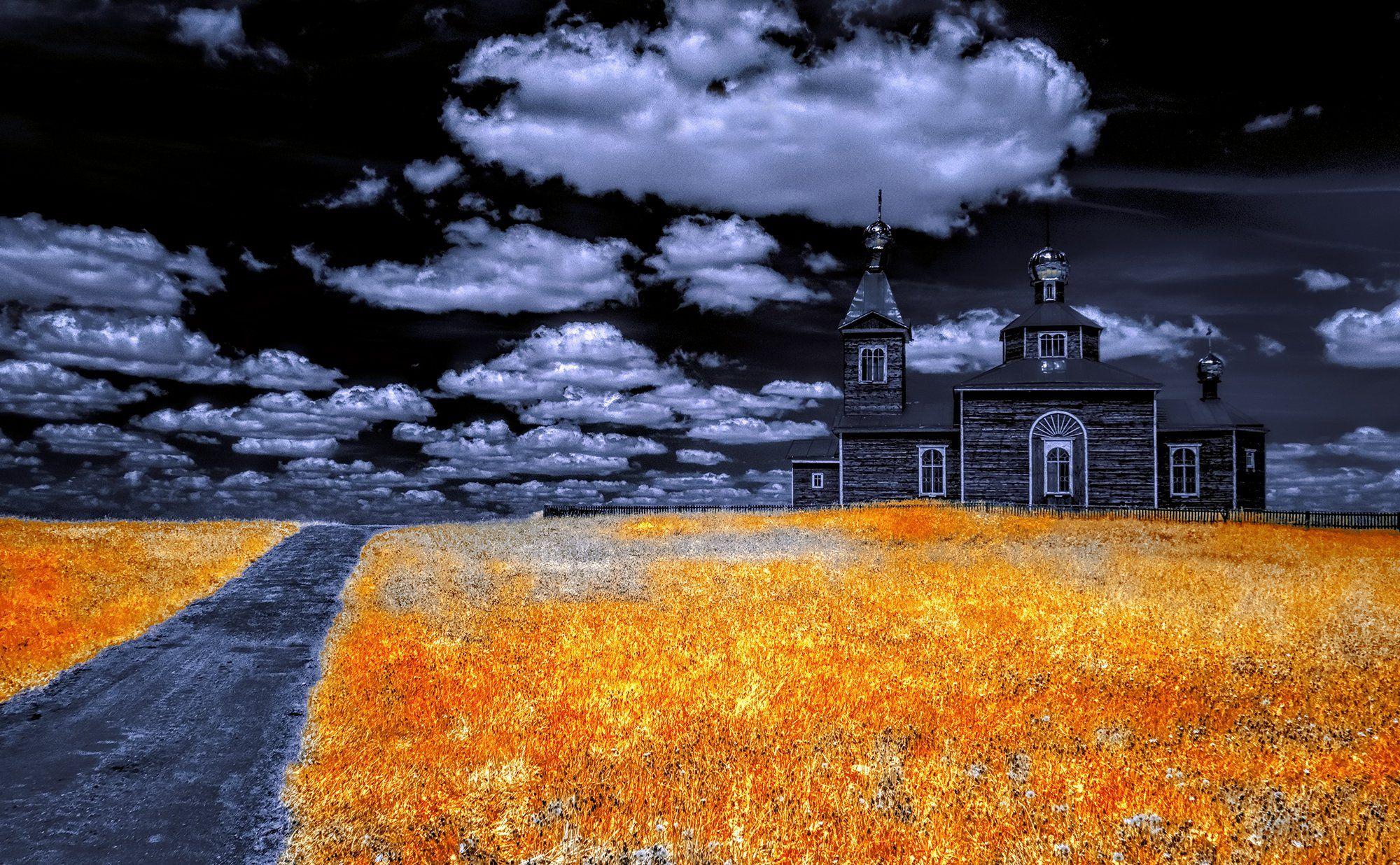 infrared,ик-фото,инфракрасное фото, инфракрасная фотография, пейзаж, весна, Sixten ( Сергей )
