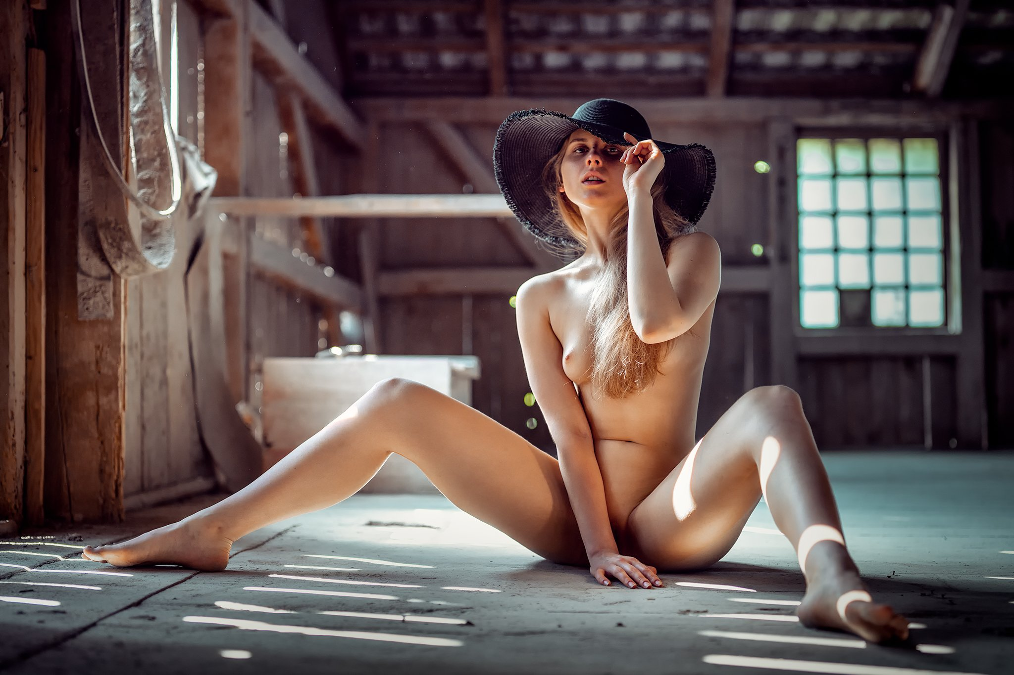 akt girl light nude fine art, Daniel Bidiuk