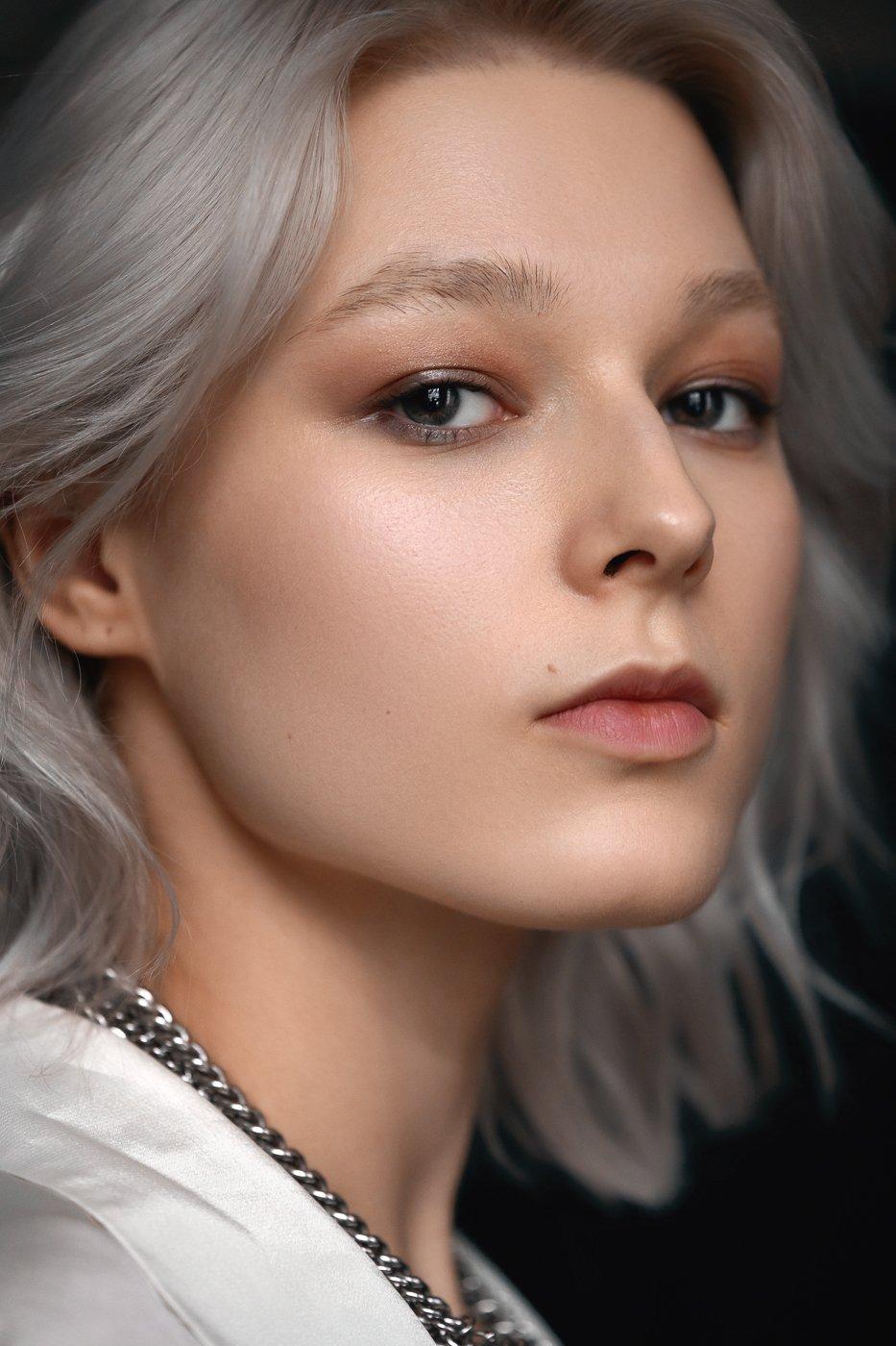 color, woman, portrait, Соколов Павел
