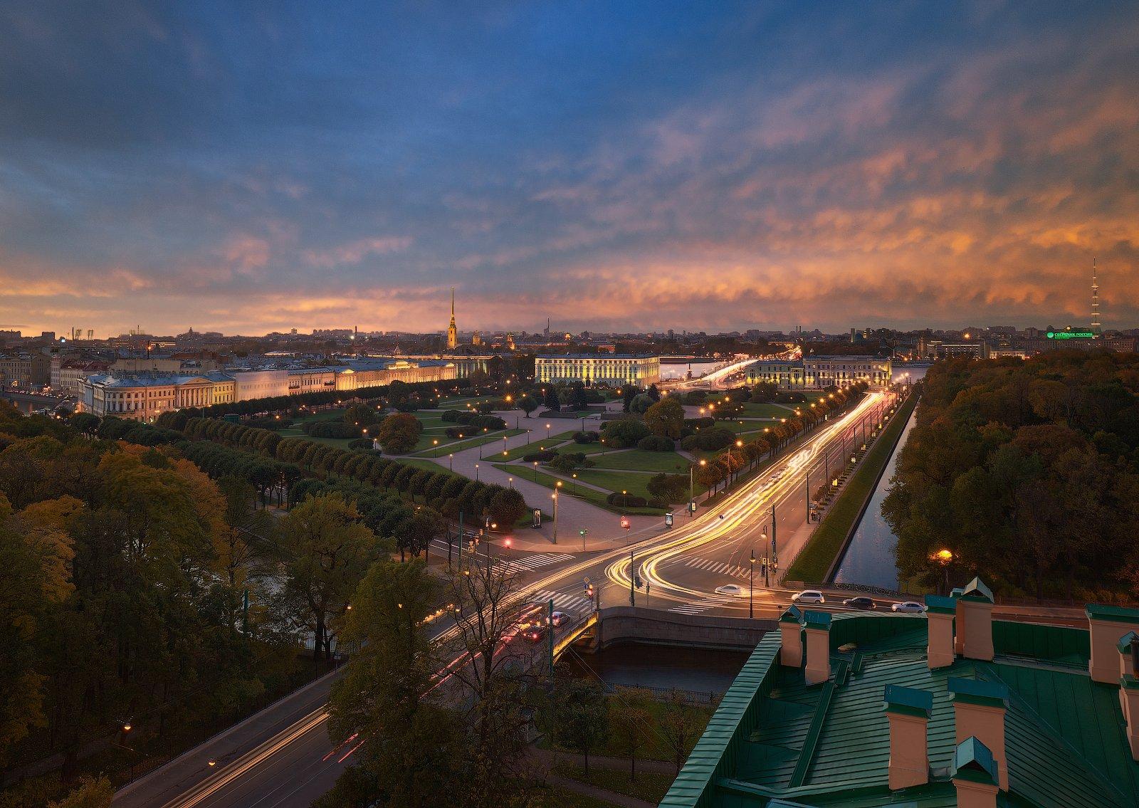 закат санкт-петербург собор поле, Лукс Сергей