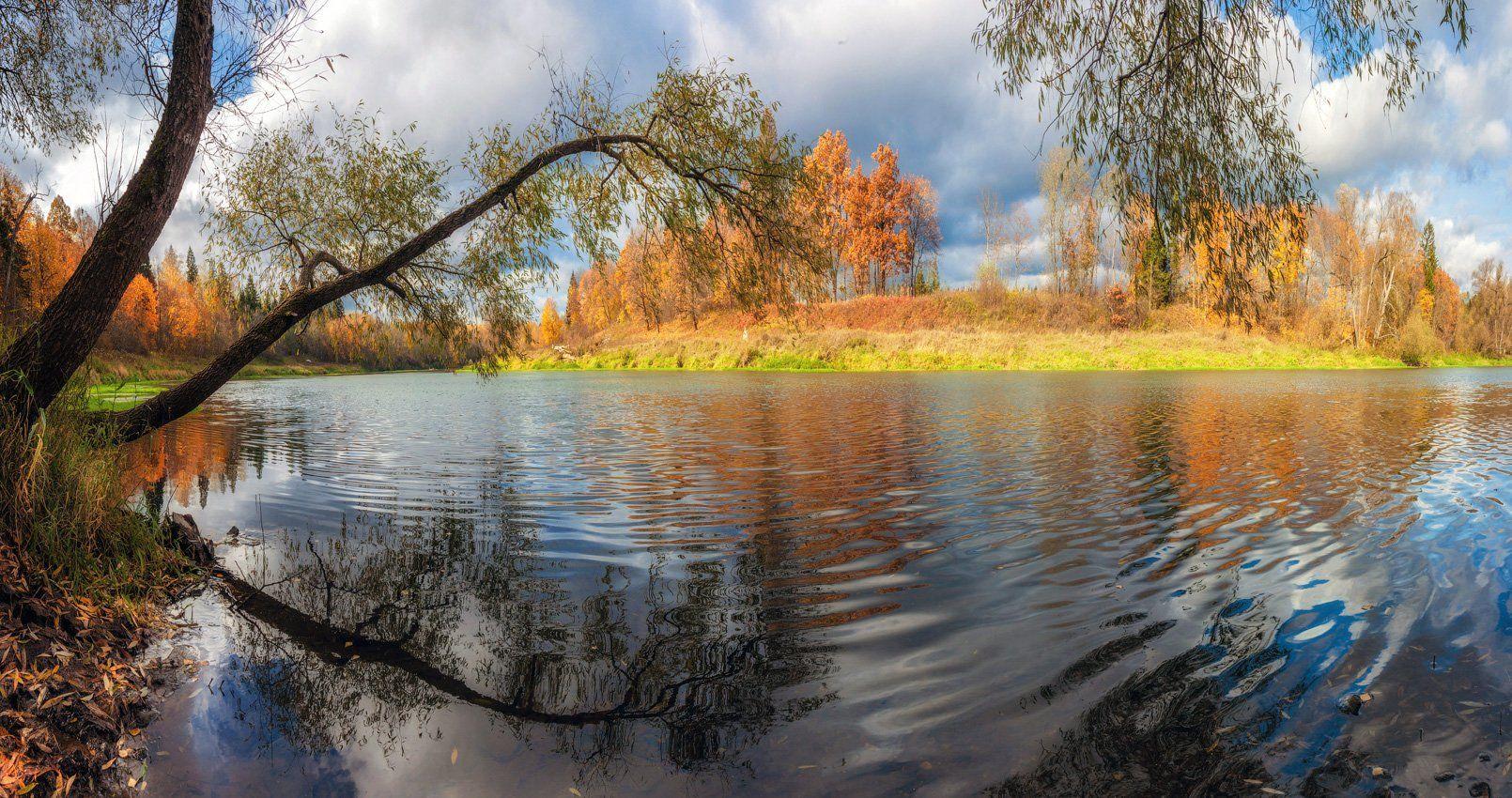 река, москва, осень, природа, подмосковье, Виктор Климкин