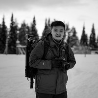 Portrait of a photographer (avatar) Zhu Xiao
